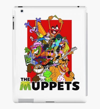 The Muppets Cartoon iPad Case/Skin