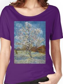 Vincent van Gogh The Pink Peach Tree Women's Relaxed Fit T-Shirt