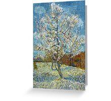 Vincent van Gogh The Pink Peach Tree Greeting Card