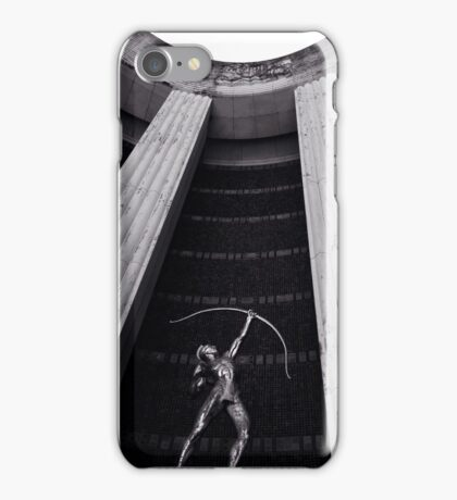 Hall of State Dallas texas iPhone Case/Skin