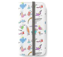 Birds Of Many Feathers iPhone Wallet/Case/Skin