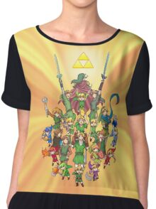 The Legend of Zelda 30th anniversary Chiffon Top