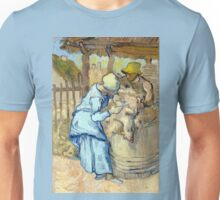 Vincent van Gogh The Sheep-Shearer Unisex T-Shirt