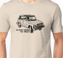 In one Thing we trust (black) Unisex T-Shirt