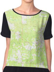 USGS TOPO Map Alabama AL Camp Hill 303399 1971 24000 Women's Chiffon Top