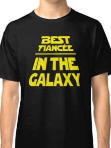 Best Fiancee in the Galaxy - Slanted Classic T-Shirt