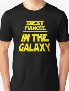 Best Fiancee in the Galaxy - Slanted T-Shirt