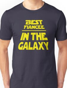 Best Fiancee in the Galaxy - Slanted Unisex T-Shirt