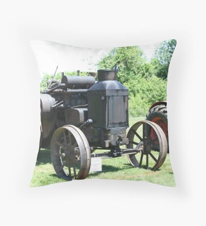 Tractor, Oldie but a goodie! Throw Pillow