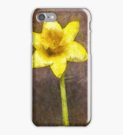 Daffodil Pencil iPhone Case/Skin