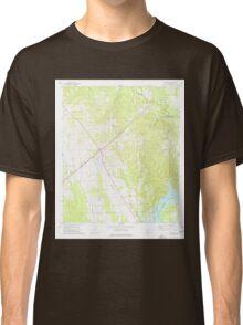 USGS TOPO Map Alabama AL Catherine 303429 1974 24000 Classic T-Shirt