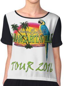 JIMMY BUFFET TOUR 2016 Chiffon Top