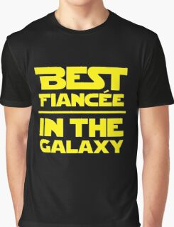 Best Fiancee in the Galaxy - Straight Graphic T-Shirt