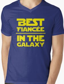 Best Fiancee in the Galaxy - Straight Mens V-Neck T-Shirt