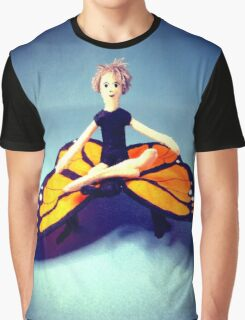 Butterfly Rider Graphic T-Shirt