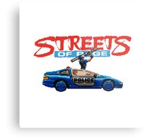 STREETS OF RAGE POLICE SUPPORT  Metal Print