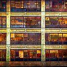 Manhattan Office Windows by Stuart Row