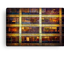 Manhattan Office Windows Canvas Print