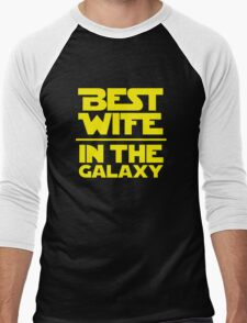 Best Wife in the Galaxy Men's Baseball ¾ T-Shirt