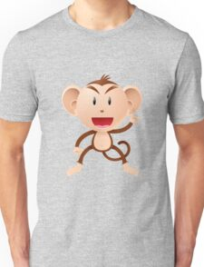 Cartoon monkey Character Unisex T-Shirt