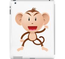 Cartoon monkey Character iPad Case/Skin