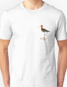 Black-tailed Godwit - Wader Quest Unisex T-Shirt