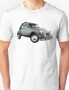 Citroën 2CV Charleston grey Unisex T-Shirt