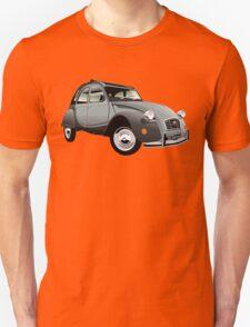 Citroën 2CV Charleston grey Unisex T-Shirt