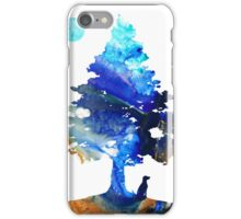 Contemplation - Dog Art Painting iPhone Case/Skin