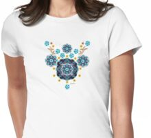 Folk Festival Womens Fitted T-Shirt
