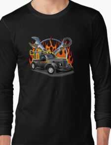 Retro Hot Rod Long Sleeve T-Shirt