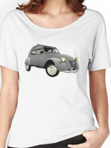 Citroën 2CV 1955 AZ grey Women's Relaxed Fit T-Shirt