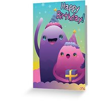 Birthday Monsters Greeting Card