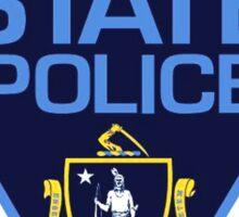 Massachusetts State Police Badge Sticker