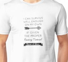 Throne of glass quote Unisex T-Shirt
