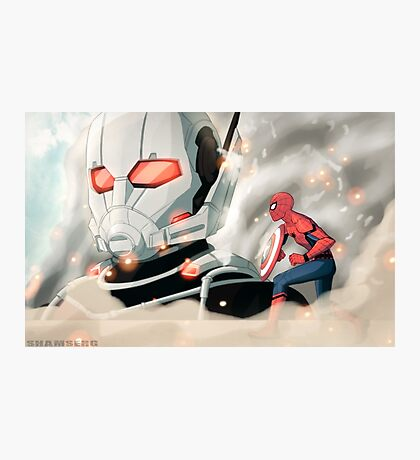 Attack on the Ant-man Photographic Print