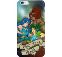 Fight Like An Oracle iPhone Case/Skin