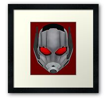 Civil Small Man Helmet Framed Print