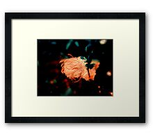 Night mystery Framed Print