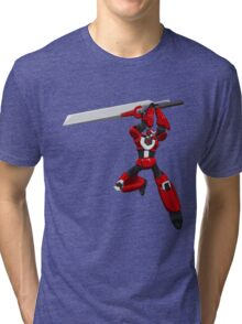 Tigrobot Mk2 Tri-blend T-Shirt