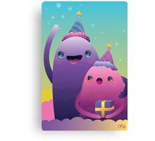 Birthday Monsters Canvas Print