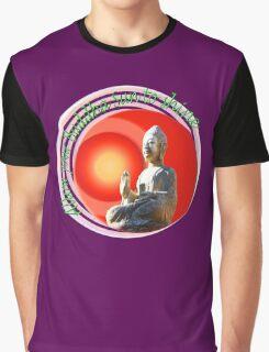 Buddha Sun Graphic T-Shirt