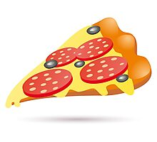 Pizza Fast Food art Photographic Print