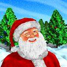 Winking Santa by Packrat