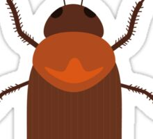 Cockroach insect Sticker