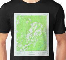 USGS TOPO Map Alabama AL Pollard 304877 1960 24000 Unisex T-Shirt