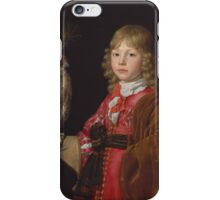 Portrait of a Boy with a Falcon,  Wallerant Vaillant (Flemish, Lille ) iPhone Case/Skin