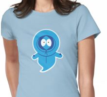 Kenny's Ghost Womens Fitted T-Shirt