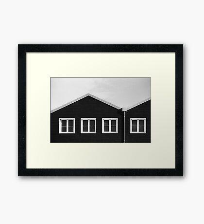 Three quarters Framed Print