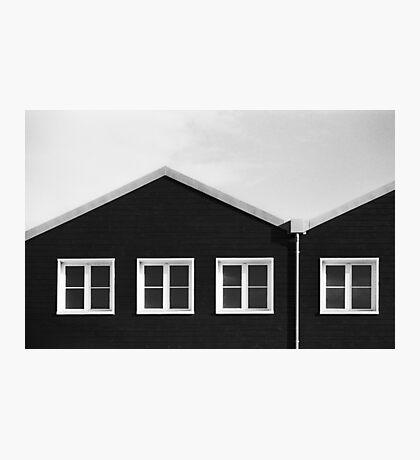 Three quarters Photographic Print